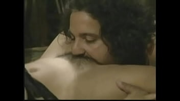 Babe with natural big tits gets her pussy fucked by legendary Ron Jeremy