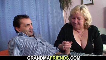 Two members fucking granny