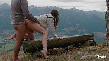 outdoor mountain sex