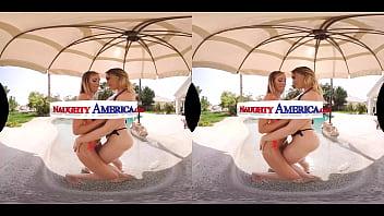 Naughty America - Jewelz Blu loves sucking & riding dick
