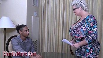 Black Youth Fucks Big Tit Whore Pornstar