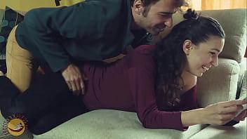 Horny Italian student sucks his boyfriend's big dick
