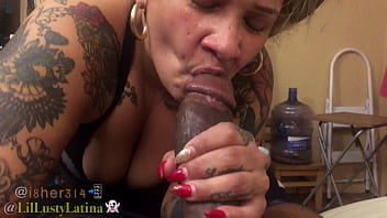 BBC i8her314 huge CUMSHOT for LilLustyLatina to swallow