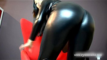 PVC Ass worship and humiliation feat. AstroDomina
