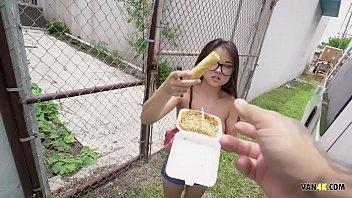 Asian Cutie Drilled in Van