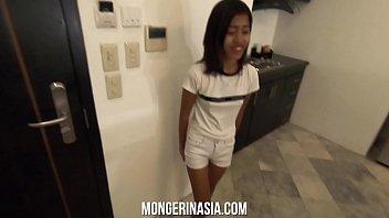 Tiny Filipina Teen Rides Giant Cock, Gets Knocked Up