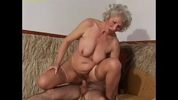 Old bitches fuck with eager young studs