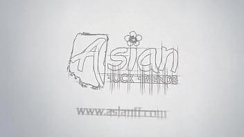 Amateur Asian couple fucking on cam