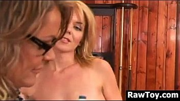 Old And Young Lesbians With An Adult Toy