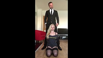 Young Babe Dominated by Hung Daddy