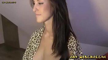 Big Natural Breasts Webcam Hottie Masturbating