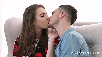 Sweet young girl, Vikalita, takes her boyfriend's twin's hard throbbing dick, deep in her pulsating pussy for a sweet snatch stuffing & massive facial finale for Vikalita! Full Video at Private.com!