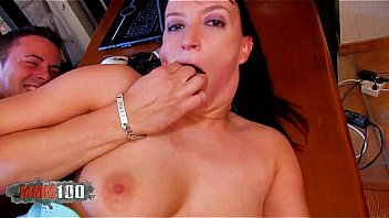 Fucking a hot milf in the ass with dildos and cock