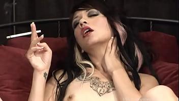 Coco Velvett - Smoking Fetish at Dragginladies