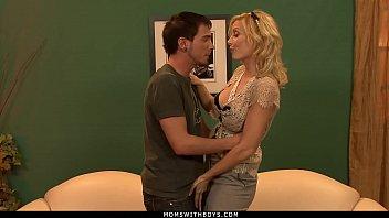 MomsWithBoys - MILF Holly Sampson Fucks Her New Husband's Grandson
