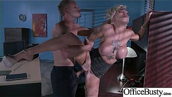 Hardcore Sex Tape In Office With Big Round Boobs Horny Girl (Harlow Harrison) vid-24