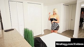 Big Butt Nympho Nina Kayy is being spied on by Private Eye, Sara Jay, as she fucks an adulterer's hard cock in this weird pervy sex clip! Full Video & Nina Live @ NinaKayy.com!