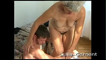 As a grandmother, she shows you how horny sex is still