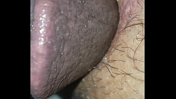 White pussy gets penetrated by black in a close up caption