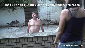 Never Fucked a Senior Citizen outdoor Before