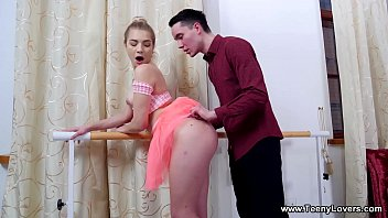 Teeny Lovers - She does it all with real ballerina grace