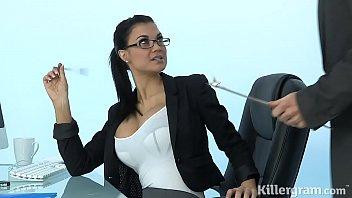 Fat cock for cock loving secretary Jasmine Jae