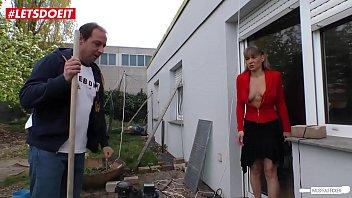 German Mature Wife Cheats and Fucks the Gardner - LETSDOEIT.COM