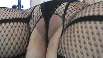 Busty milf in net stockings fucked Thumbnail