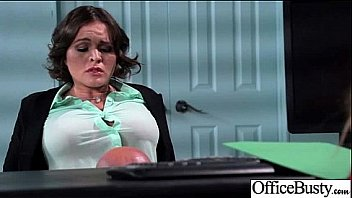 Superb Woker Girl (krissy lynn) With Big Tits Get Hard Sex In Office clip-16