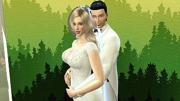 Superman and Supergirl's Wedding Photos to the Bride Broken Heart to the Cuckold Husband Hentai Netorare Strong