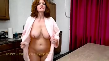 Mom fucks her Horny Son for his Birthday - Andi James