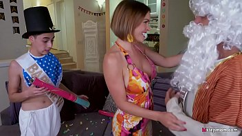 Young guy Helping out Krissy Lynn in need of a second dick beside husband's