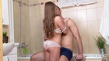 Deep Anal Nooner for Hot Russian Teen Bailey