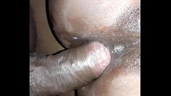 Ass creampie