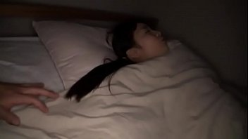 Japanese teen fucked in bed and bath