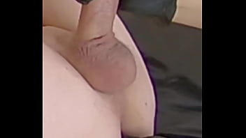 The women fucks the guy's prostate to cumshot. Vertical full screen HD video.