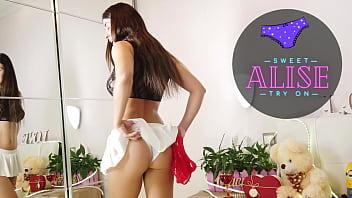 Spy she makes panty haul