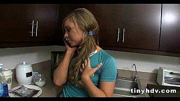 Petite tiny girl drilled Katerina Kay 4 91