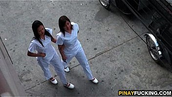 Asian Nurses Share A White Dick thumbnail