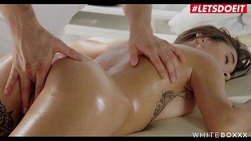 LETSDOEIT - European Brunette Babe Liya Silver Has Erotic Hardcore Massage Fuck