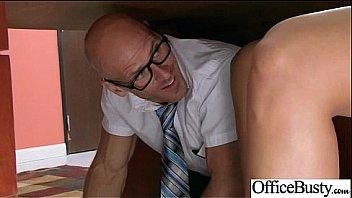 (lela star) Big Round Tits Girl Enjoy Sex In Office clip-26