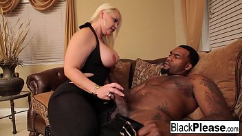 Sexy babe loves black dick