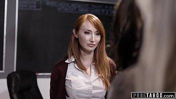 Lez Teacher Demands Sex From Student & Her Stepmom to Avoid Expulsion Thumbnail