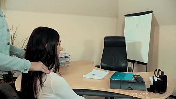 Office lesbian sex so fucking hot and wet