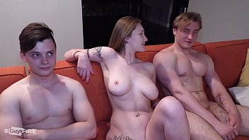 Shy Teen Virgin Reluctantly Does Porn, Then Gets Crushed In MMF Threesome