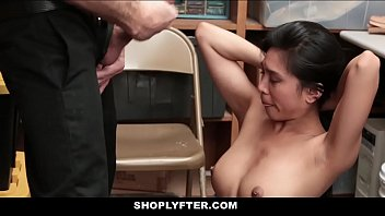 ShopLyfter - Sexy Asian Shoplifter (EmberSnow) To Fuck
