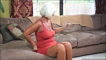 hot granny milf gives blowjob
