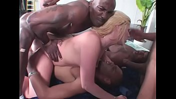 Gang Bang interracial