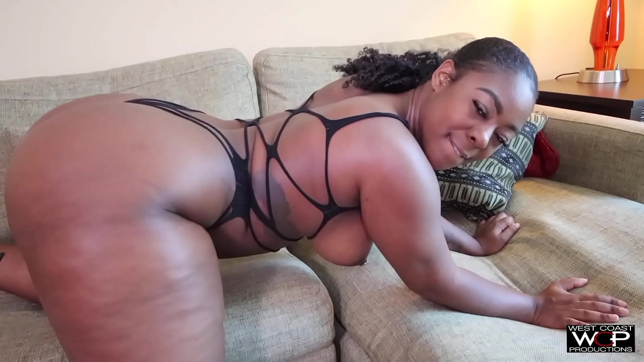 big natural black booty