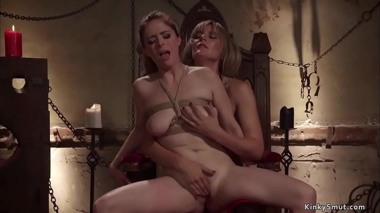 Lesbian Bondage Feet Worship